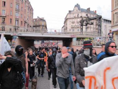 Manifestation contre le 49.3 organisée par Nuit Debout © Séverine Cattiaux