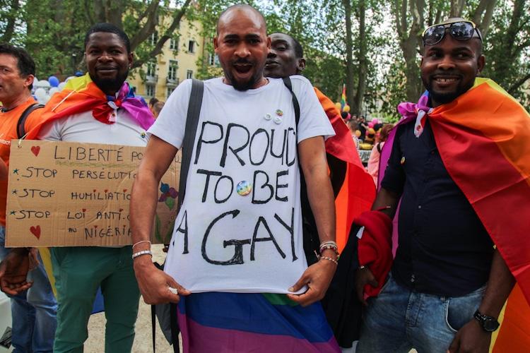 Marche des fiertés 2016, Grenoble. © Yuliya Ruzhechka - Place Gre'Net