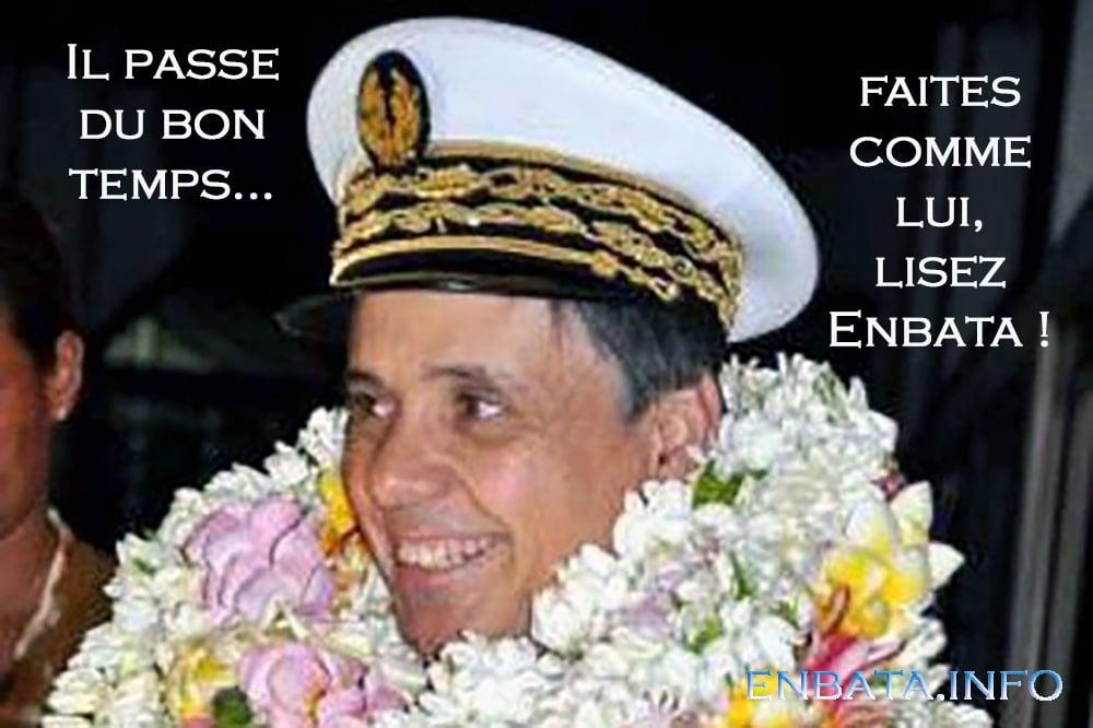 Quand le journal basque Enbata moquait l'ancien préfet des Pyrénées-Atlantiques. DR