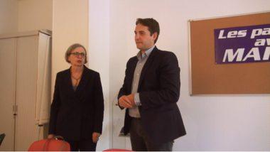Mireille D'Ornano et Thibaut Monnier. © Joël Kermabon - Place Gre'net