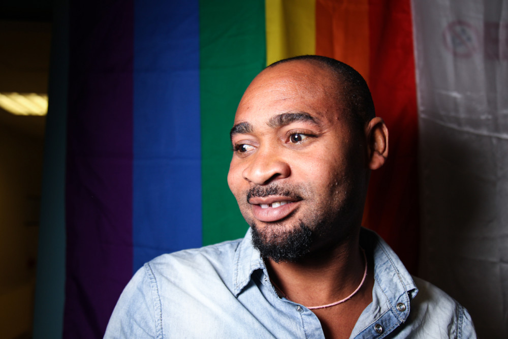 Collins Osarobo. Soirée Queer lors de la Semaine des fiertés 2016. © Yuliya Ruzhechka - Place Gre'Net