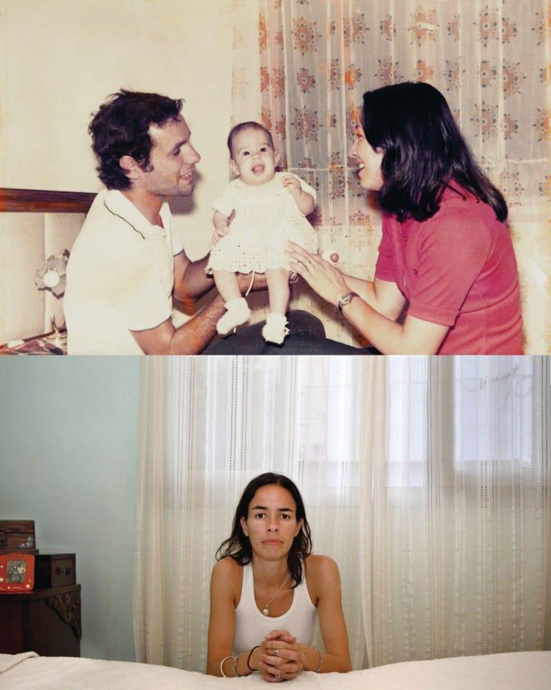 1976, Orlando René Mendez, Leticia Margarita Oliva et leur bébé Laura Cecilia Mendez Oliva. 2006, seule reste Laura Cecilia. DR