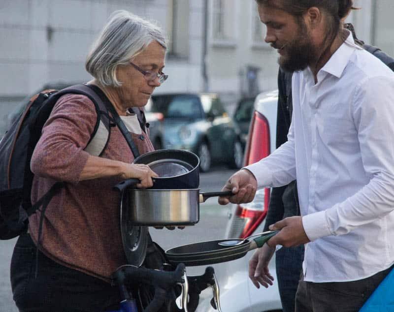 """Casseroles Debout"" contre la loi de travail. © Yuliya Ruzhechka - Place Gre'Net"