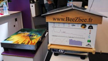 BeezBee, une ruche connectée. Forum 5i 2016. © Yuliya Ruzhechka - Place Gre'Net