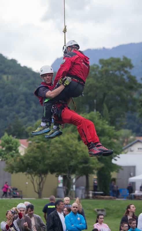 99e Journée départementale des sapeurs-pompiers de l'Isère. © Yuliya Ruzhechka - Place Gre'Net