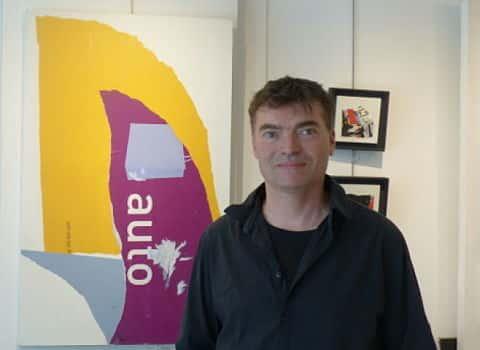 Jean-Jacques André, propriétaire de la galerie Origin. © Alexandra Moullec