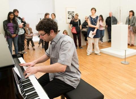 Brèves musicales pour Musée en musique. © Jean-Luc Lacroix - musée de Grenoble