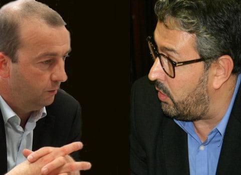 Matthieu Chamussy et Jérôme Safar © Joël Kermabon - Place Gre'net