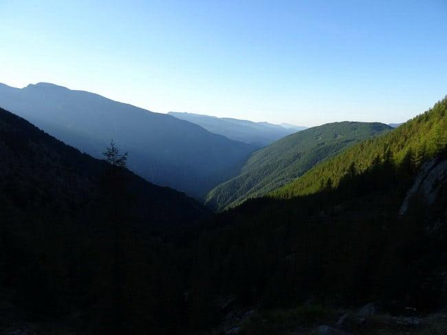 Vallée de la Tinée, Saint-Sauveur bois. © André Weill