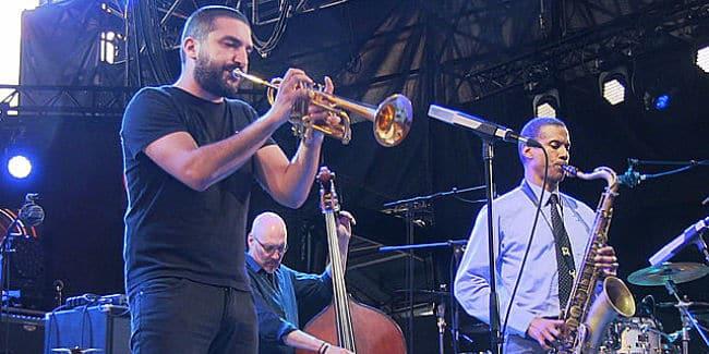 Ibrahim Maalouf, Jazz à Vienne 2016. © aep