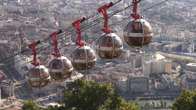 Les bulles de Grenoble Bastille. DR