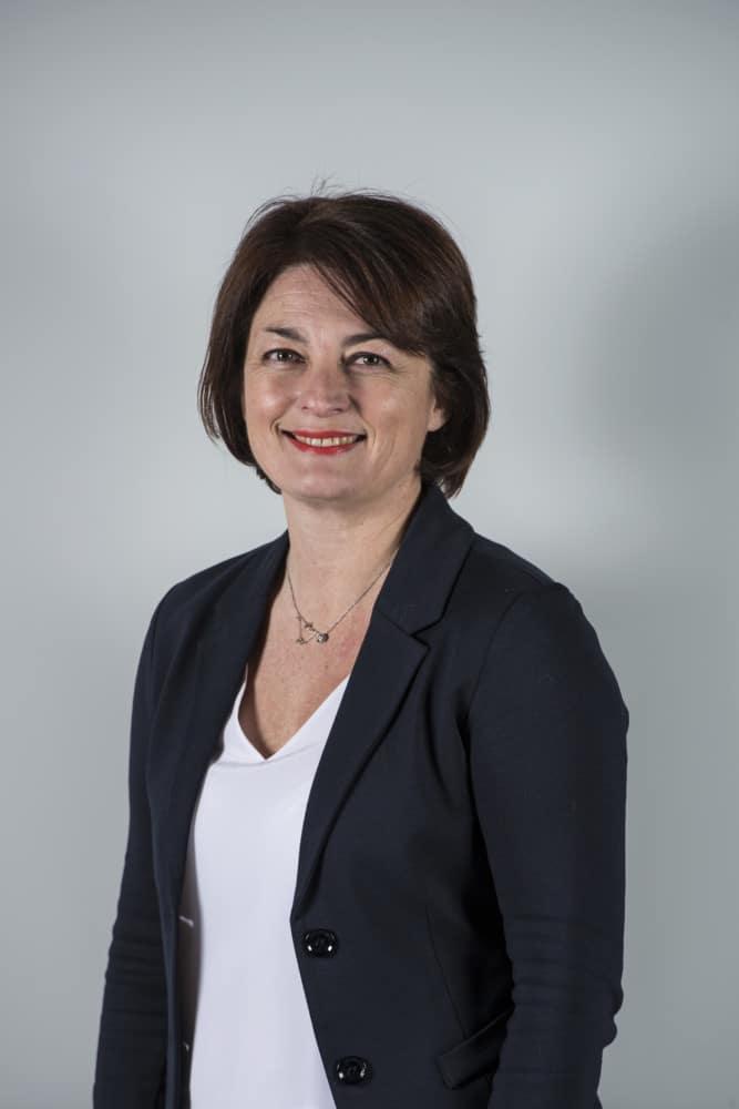 Béatrice Berthoux, vice-présidente de la Région déléguée aux lycées. © Alexa Brunet