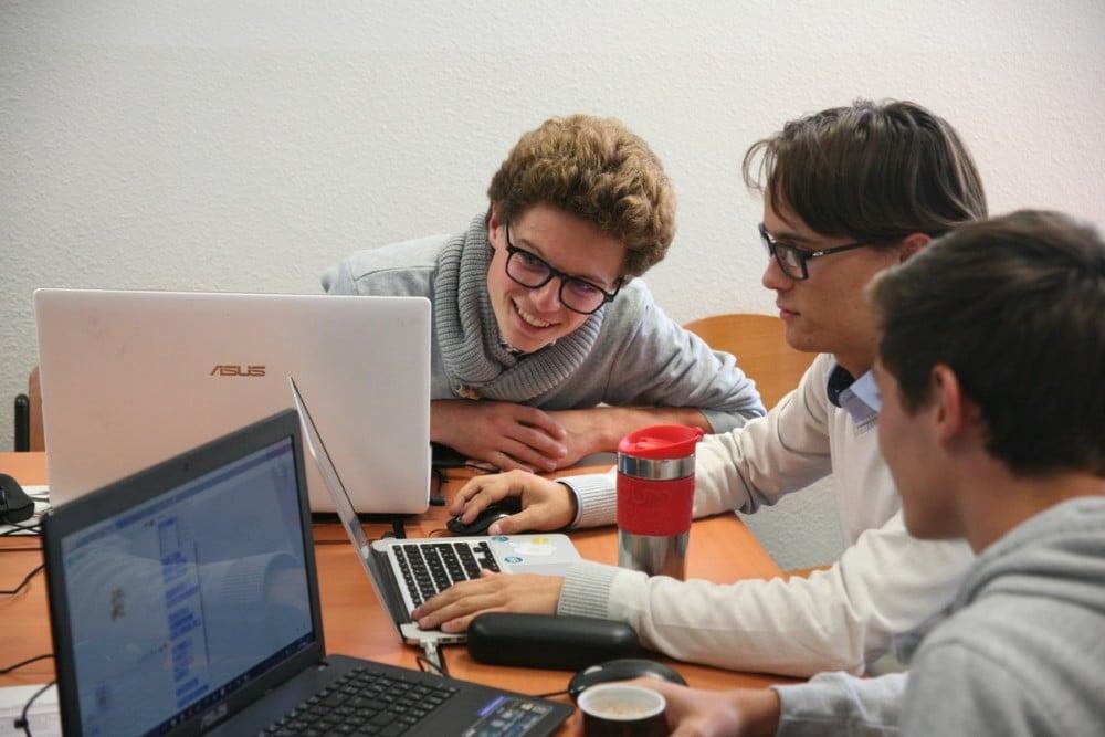 Les acteurs du numérique de demain. © Florent Mathieu - Place Gre'net
