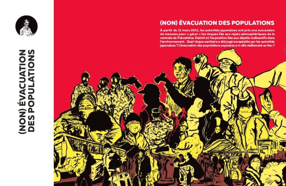 Franckushima de Géraud Bournet (extrait) – © Géraud Bournet - Lutopiquante
