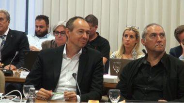 Pascal Clouaire, conseiller municipal délégué à la démocratie locale. © Joël Kermabon - Place Gre'net
