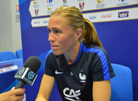 Camille Abily, équipe de France de football féminin. © Laurent Génin - Place Gre'net