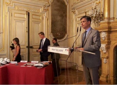 Lionel Beffre, préfet de l'Isère. © Joël Kermabon - Place Gre'net