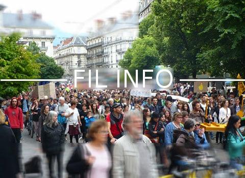 L'association Coexister Grenoble et le Conseil inter-religieux de la région grenobloise organisent une Marche de la Fraternité au soir du dimanche 18 juin.