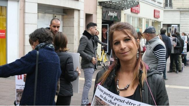 Lydie Visona, présidente de l'association Cali. © Joël Kermabon - Place Gre'net