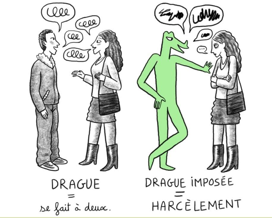 Extrêmement Nouvelle campagne contre le harcèlement de rue du 12 au 19 octobre  VJ16