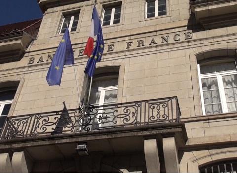 Agence de la Banque de France à Grenoble. © Joël Kermabon - Place Gre'net
