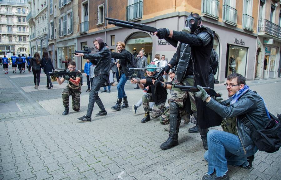 Zombie walk. © Yuliya Ruzhechka - Place Gre'Net