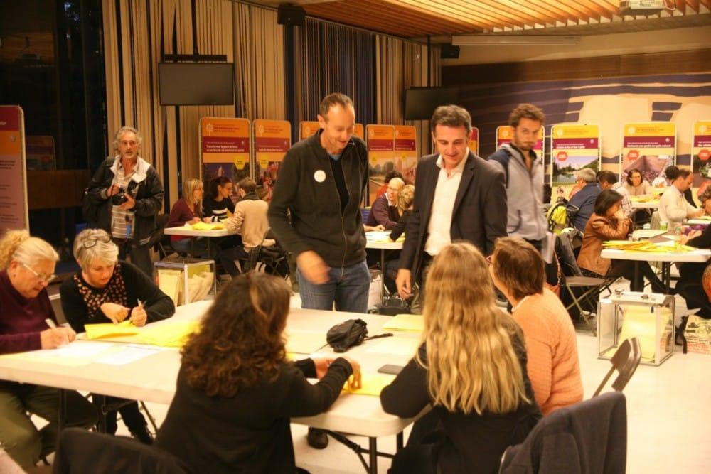 Dépouillement votation citoyenne - Clouaire et Piolle © Florent Mathieu - Place Gre'net