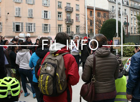 Conditions de travail qui se dégradent pour les salariés de l'aide à domicile de l'ADPA, en grève ce jeudi 15 décembre, à Grenoble