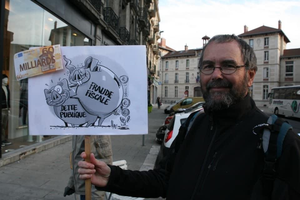 Quand un dessin vaut mieux que des longs discours. © Florent Mathieu - Place Gre'net