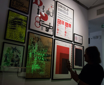 Exposition « I LOVE JAPAN. Graphisme & modernité » au Centre du graphisme, Echirolles. © Yuliya Ruzhechka - Place Gre'net