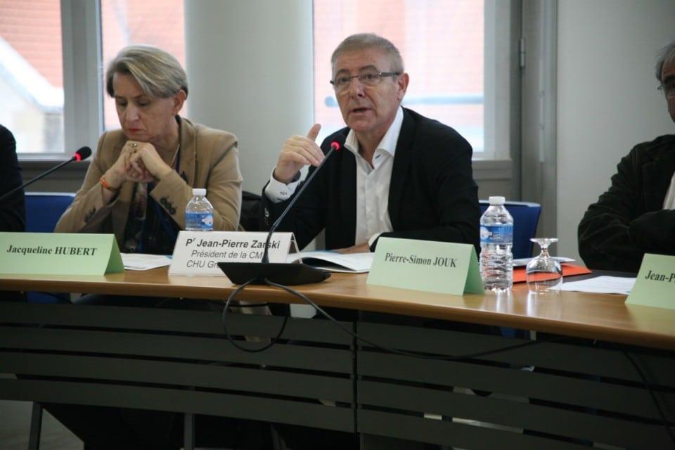 chuga-04Jean-Pierre Zarski, Président de la Commission Médicale d'Établissement © Florent Mathieu - Place Gre'net