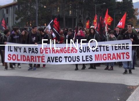 Collectifs de sans-papiers et migrants, syndicats et associations organisent une marche des lumières pour l'égalité des droits, ce mardi 18 décembre.