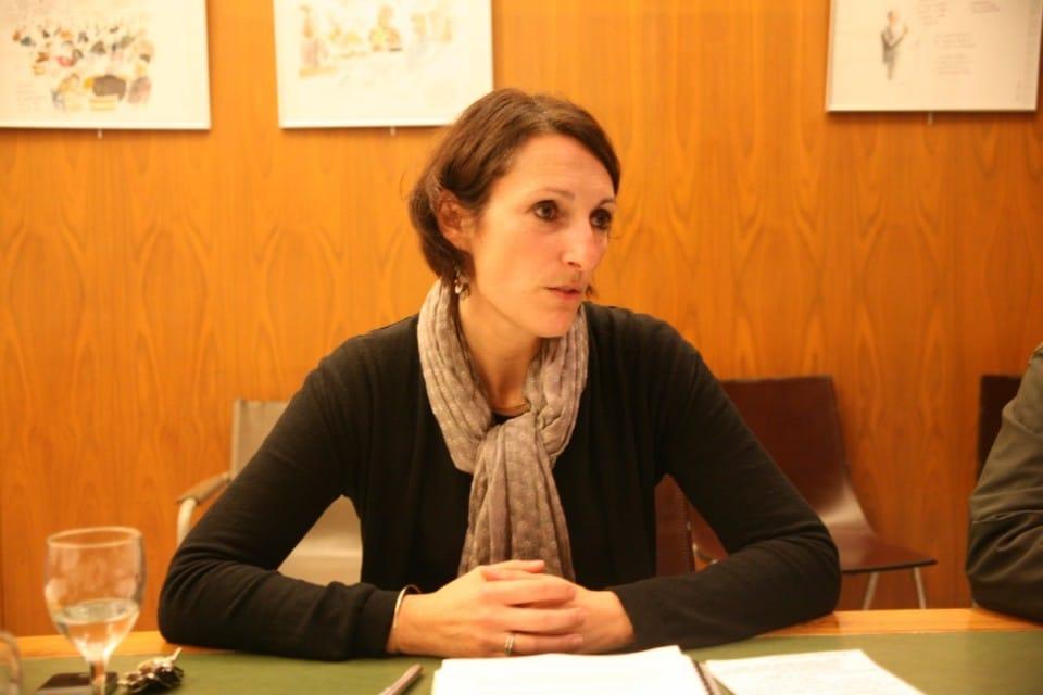 Maud Tavel, adjointe de Grenoble déléguée au personnel et à la direction générale. © Florent Mathieu - Place Gre'net