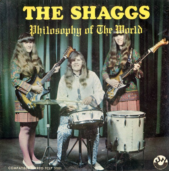 Philosophy Of The World, des Shaggs. Un disque aujourd'hui culte.