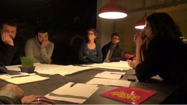 Écoute et échanges à la table n° 2 des Communs métropolitains. © Joël Kermabon - Place Gre'net