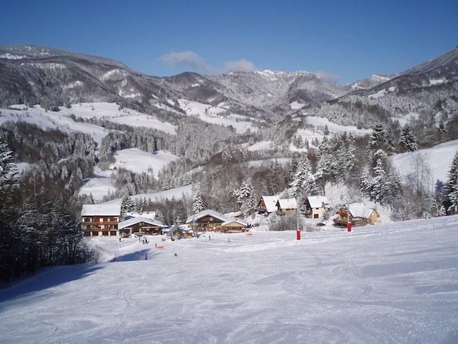La station de ski du Granier. © Office de tourisme Entremont
