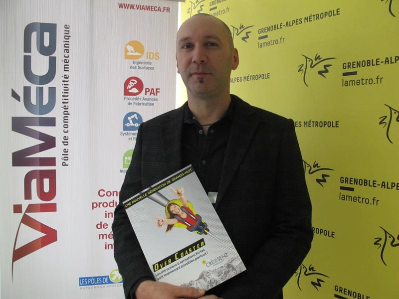Thierry Lou, fondateur et président de Creosens. © Séverine Cattiaux - Place Gre'net