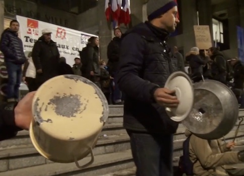 Conseil municipal de Grenoble : opération casseroles