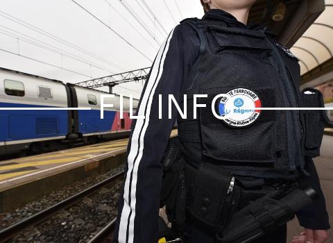 L. Wauquiez, le président de la région AURA, a présenté ce 16 novembre un plan de 100 millions d'euros pour la sécurisation des gares et des trains.© Michel PERES -Région Auvergne-Rhône-Alpes