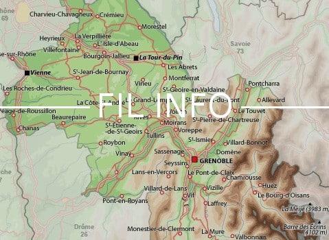 Cinq nouvelles communes, toutes issues de la fusion de deux communes déjà existantes, vont voir le jour en Isère à partir du 1er janvier 2017.
