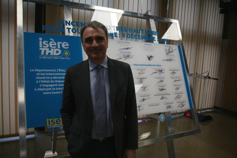 Michel Paulin, Directeur général de SFR © Florent Mathieu - Place Gre'net