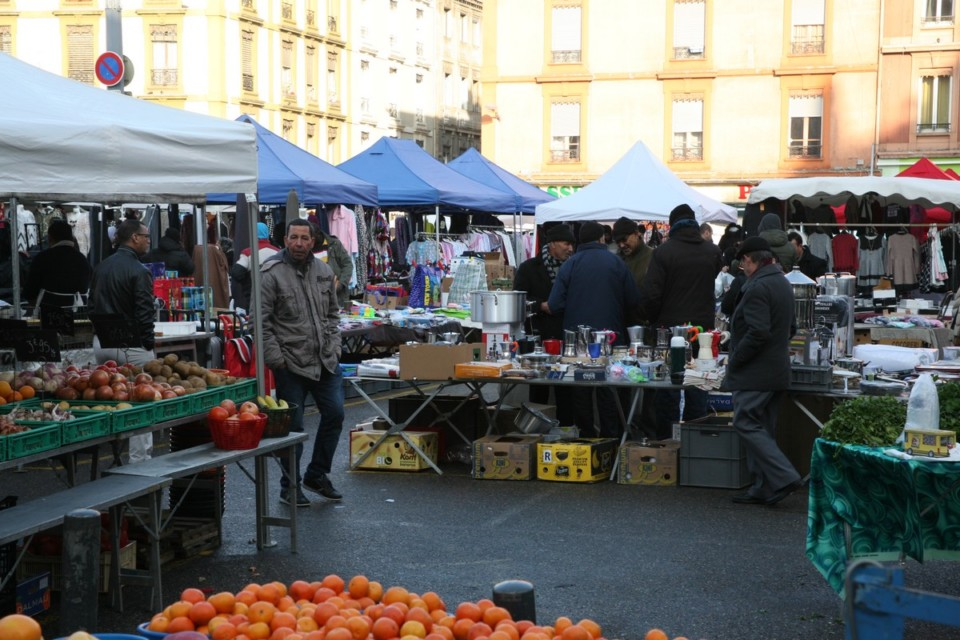 Le marché Saint-Bruno © Florent Mathieu - Place Gre'net