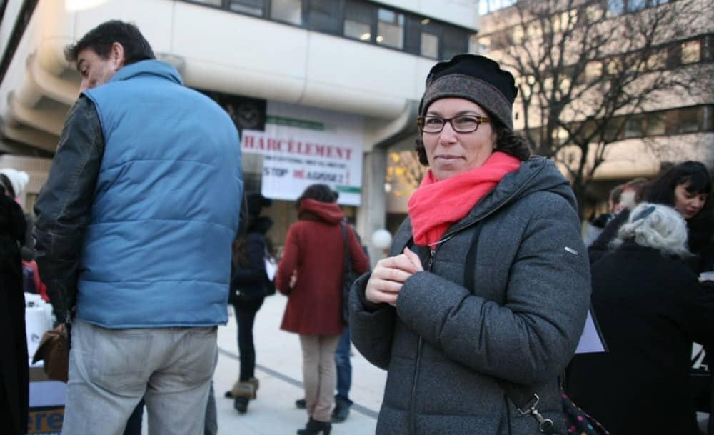 Sophia Dlili, assistante sociale au Salto © Florent Mathieu - Place Gre'net
