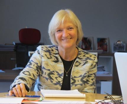 Francie Mégevand, maire d'Eybens. © Séverine Cattiaux - placegrenet.fr