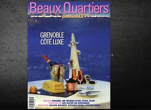 Le groupe Les Affiches rachète la revue Beaux Quartiers, fondée par Jacques Baillieux, et ciblant le lectorat des CSP + sur Grenoble et l'agglomération.