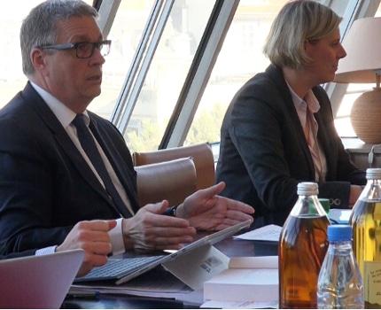 Jean-Pierre Barbier, le président du département de l'Isère, a présenté, ce jeudi 15 décembre, les grandes lignes du budget 2017.