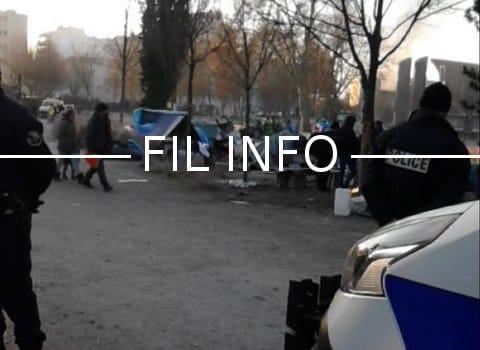La demande d'expulsion des occupants du camp Valmy, formulée par la ville de Grenoble, a été rejetée par le tribunal administratif ce jeudi 27 avril 2017.