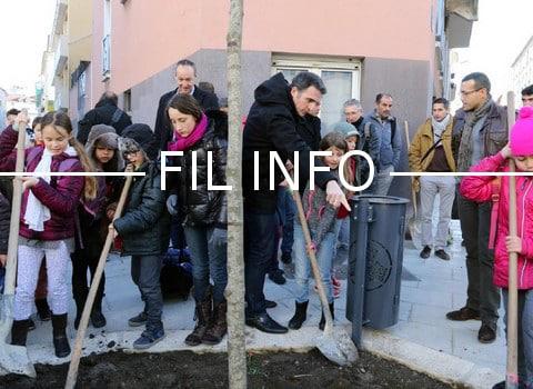 L'espace public végétalisé et sécurisé de l'école Nicolas Chorier, issu du budget participatif 2015, a été inauguré. Un parvis a notamment été créé.