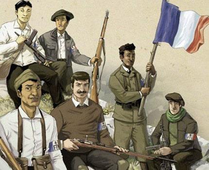 """Focus sur """"La BD prend le maquis !"""", dernière exposition temporaire du Musée de la Résistance et de la déportation de l'Isère, visible jusqu'au 22 mai 2017."""
