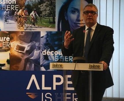 Le Département lance la marque territoriale Alpes Is(h)ere. L'occasion de créer une identité territoriale pour les entreprises et le secteur touristique.